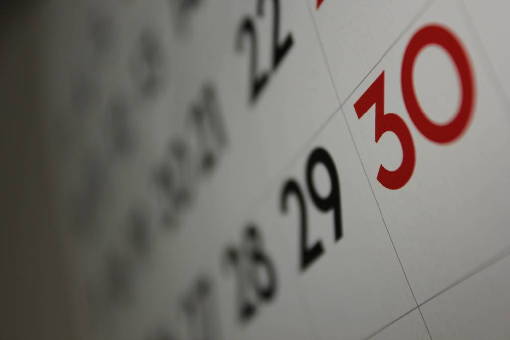 30 September Year Ends – The clock is ticking